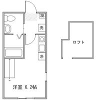【冬割】◆アットイン新横浜2間取図
