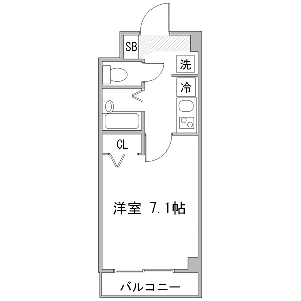【夏割】◇アットイン品川5の間取り