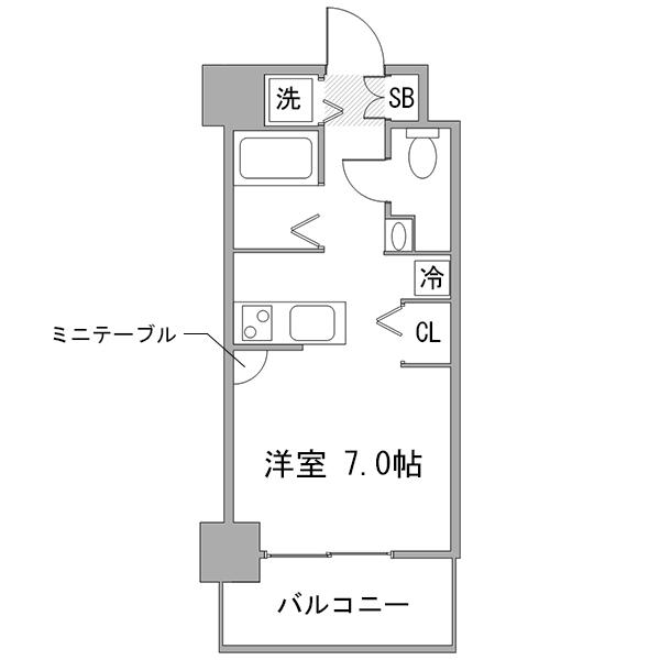 ◇アットイン大塚4の間取り