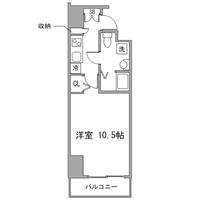 【ウィンターセール】◇アットイン神田3間取図