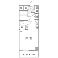 【冬割】◇アットイン武蔵小杉2-6間取図