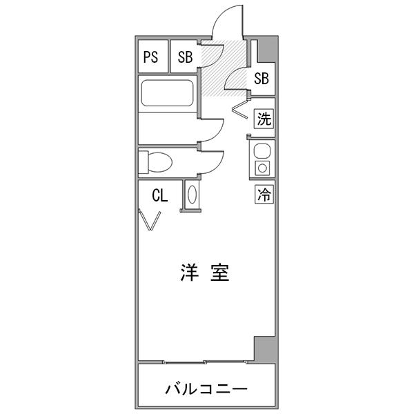◇アットイン武蔵小杉2-6の間取り