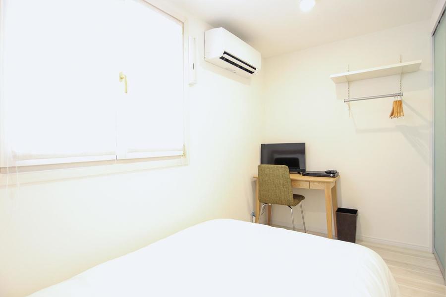お部屋はコンパクトサイズながら、細部までこだわられています