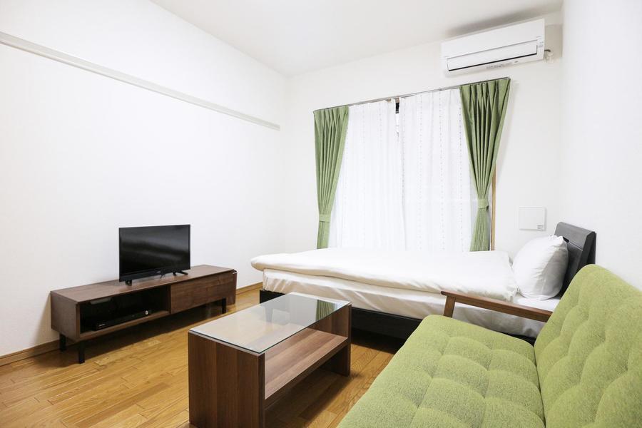 家具家電類を配置しても、ゆとりある広さのお部屋です