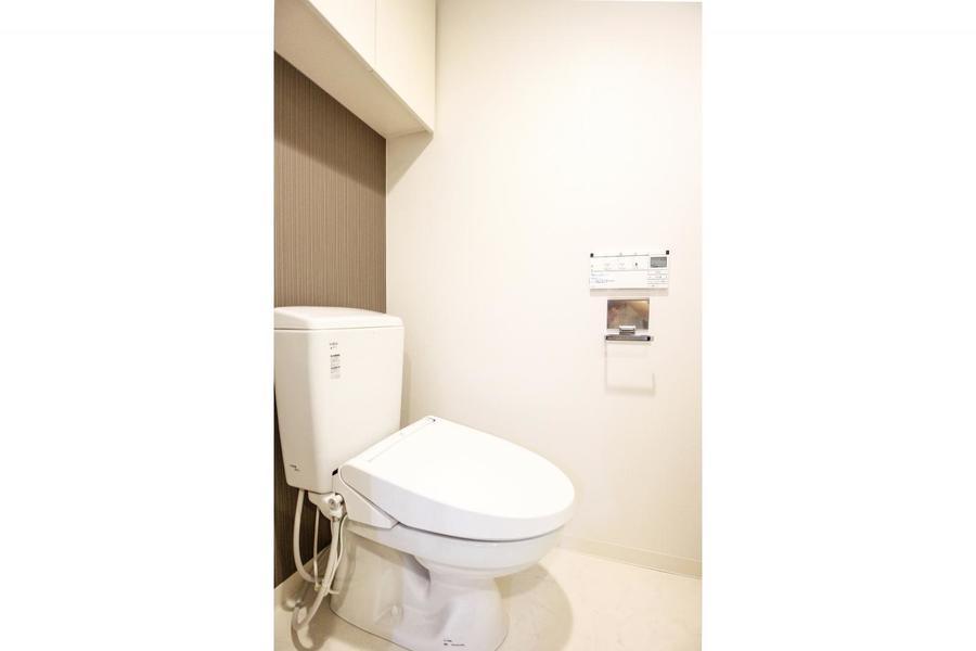 お手洗いは人気のシャワートイレを搭載