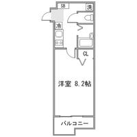 ◇アットイン大井町1間取図