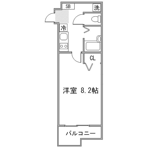 【夏割】◇アットイン大井町1の間取り