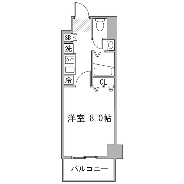 【夏割】◇アットイン町田5の間取り