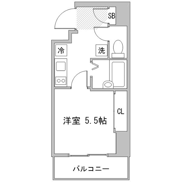 【秋割】◇アットイン大塚5の間取り