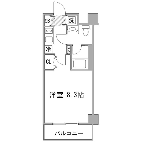 ◇アットイン田端3の間取り