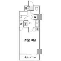 アットイン横浜14-1間取図