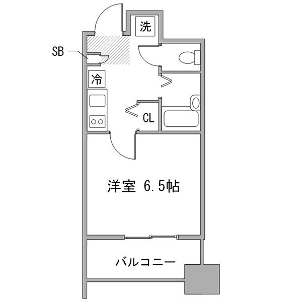 【秋割】◇アットイン品川6の間取り