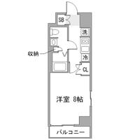 【夏割】◇アットイン東陽町1間取図
