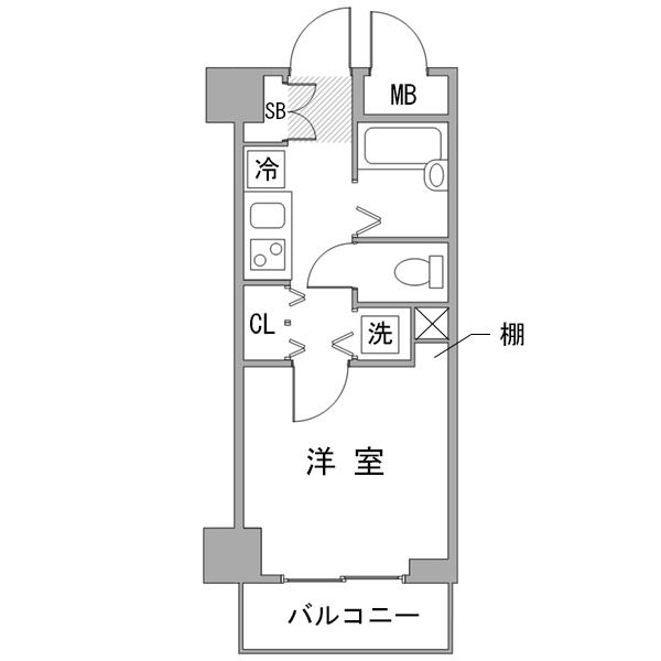 【秋割】◇アットイン横浜15の間取り