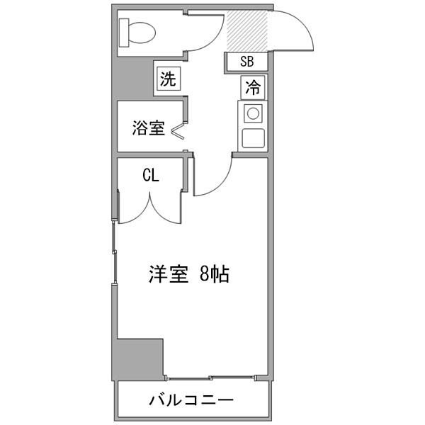 【ロング割】◇アットイン蒲田4の間取り