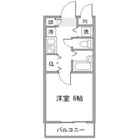 【Happy割】◇アットイン新宿10間取図