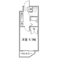 ◇アットイン早稲田1間取図