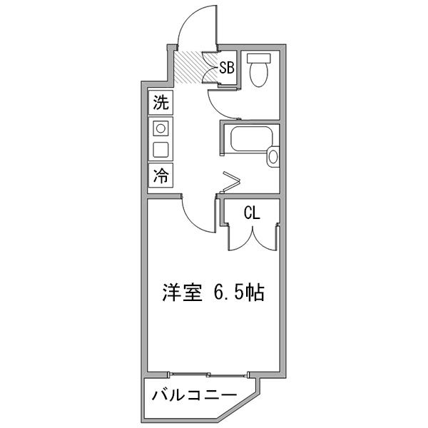 ◇アットイン早稲田1の間取り