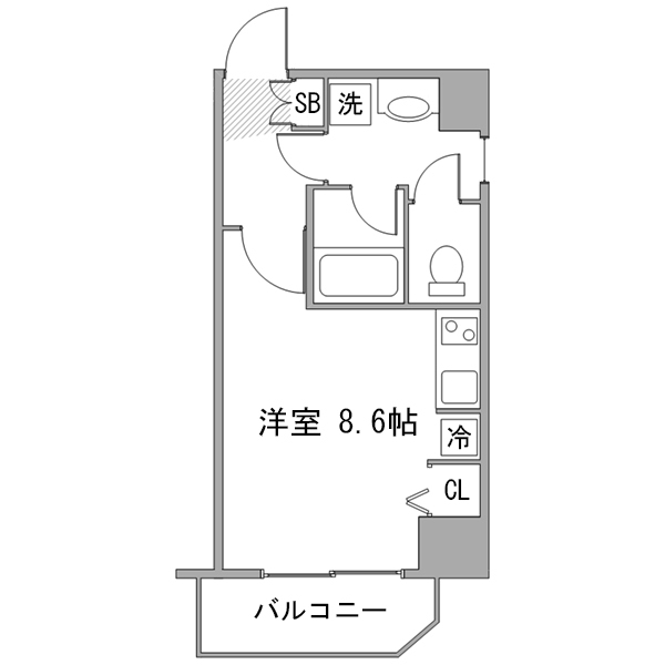 ◇アットイン新宿11の間取り