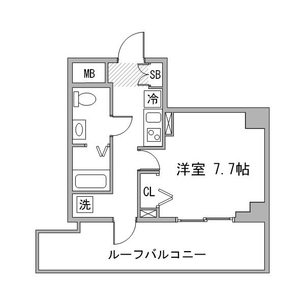 【夏割】◇アットイン東陽町2-2の間取り