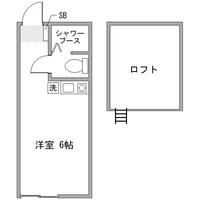 【長期割】アットイン川崎15間取図