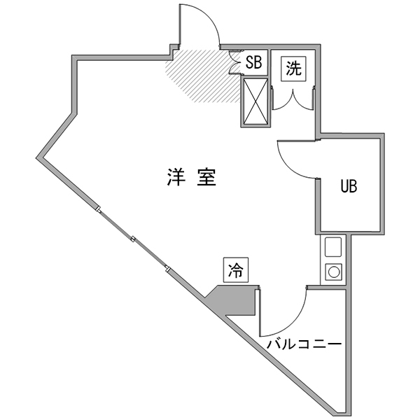 ◇アットイン武蔵小金井1-2の間取り