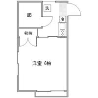 【長期割】◇アットイン高井戸1間取図