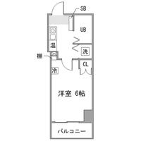 アットイン高田馬場3間取図