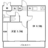 ◇アットイン横浜14-6間取図