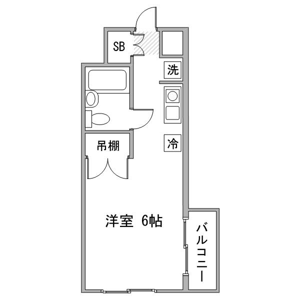 【長期割】◇アットイン大塚3の間取り