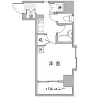 【冬先取りキャンペーン】アットイン四ツ谷2間取図