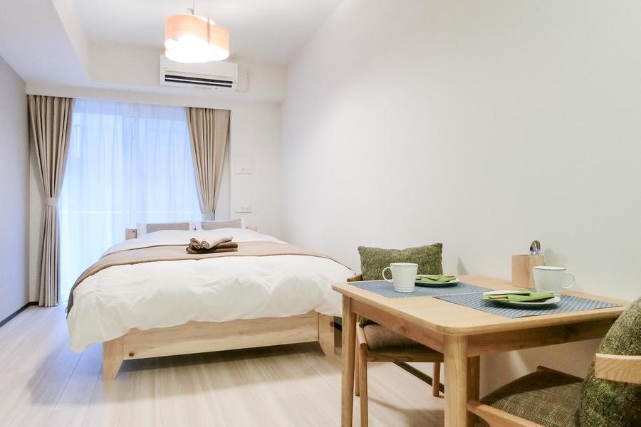インテリアにこだわったホテルのような空間のお部屋
