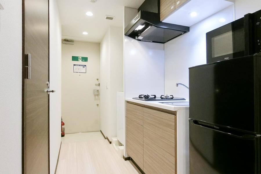 お料理や洗濯も動きやすいスペースを確保
