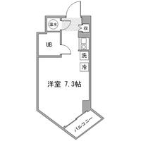 アットイン飯田橋5-1間取図