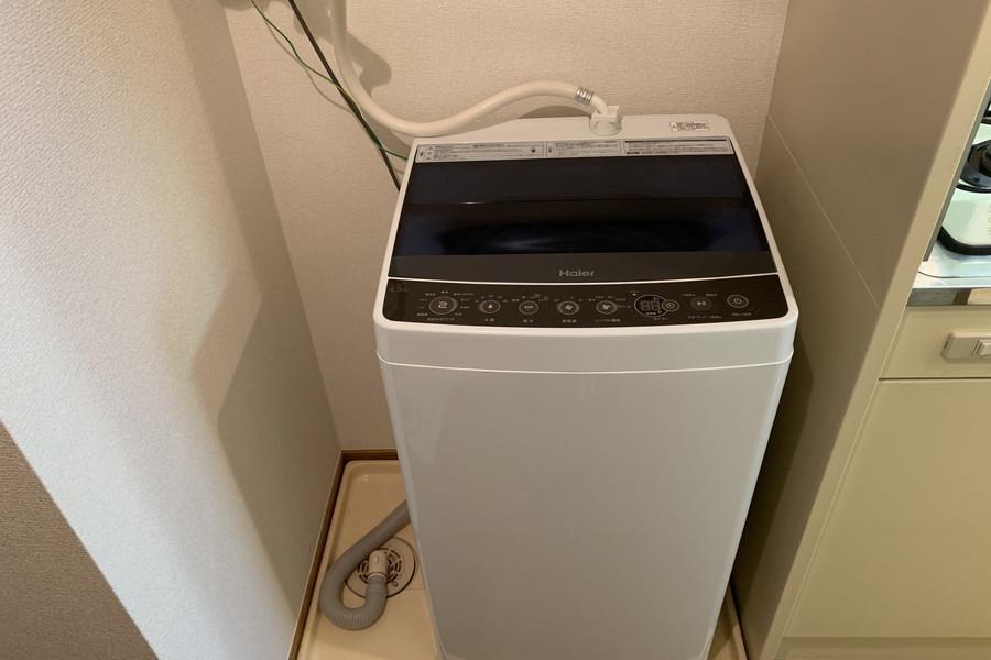 洗濯機は衛生面、防犯面でも安心の室内設置タイプ