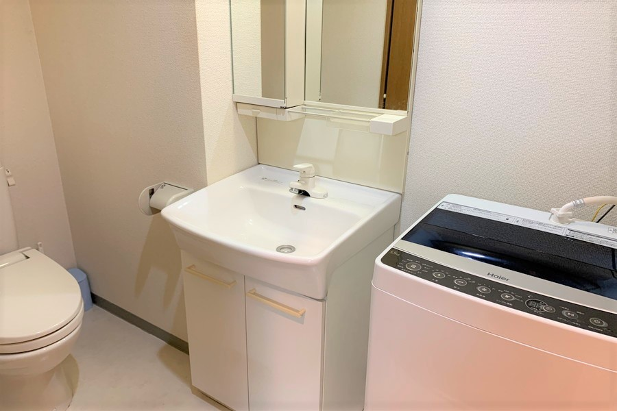 洗濯機置場・独立洗面台