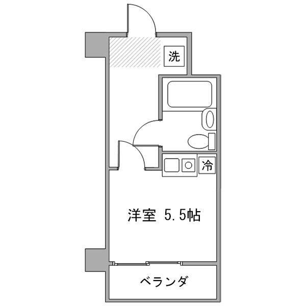 【冬先取りキャンペーン】アットイン町田6-2の間取り