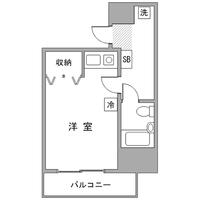 アットイン町田6-3間取図