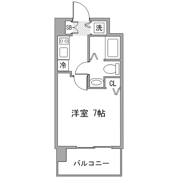 【冬先取りキャンペーン】アットイン横浜南1の間取り