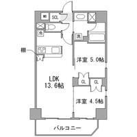 【冬先取りキャンペーン】アットイン町屋1-6間取図