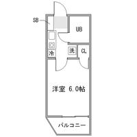 【夏割】◇アットイン三軒茶屋2間取図