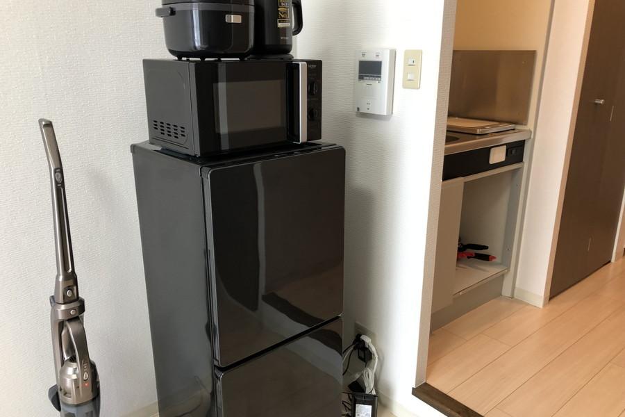 冷蔵庫をはじめとしか家電類もすべてご用意しております