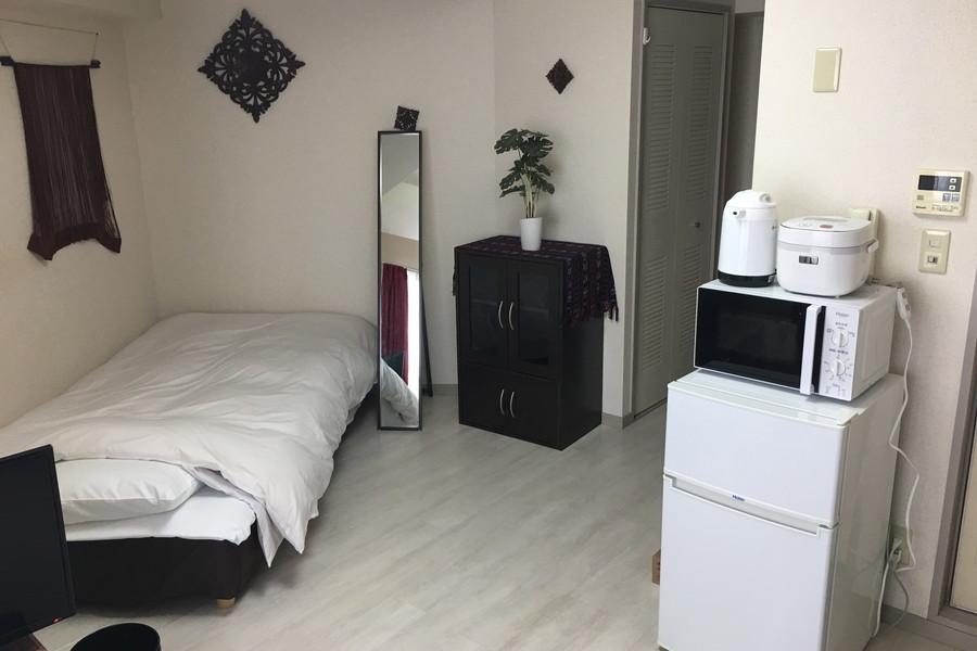 多角形の間取りを活かすよう家具を配置