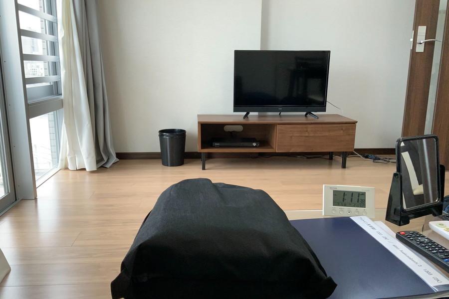 TV・ローテーブル(ソファ目線)