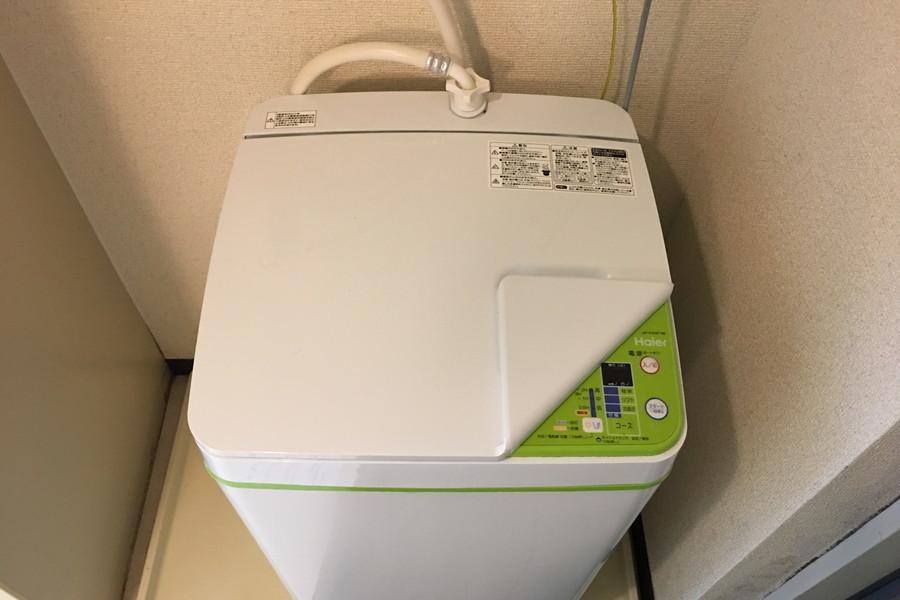 防犯や衛生面で気になる洗濯機は室内置き