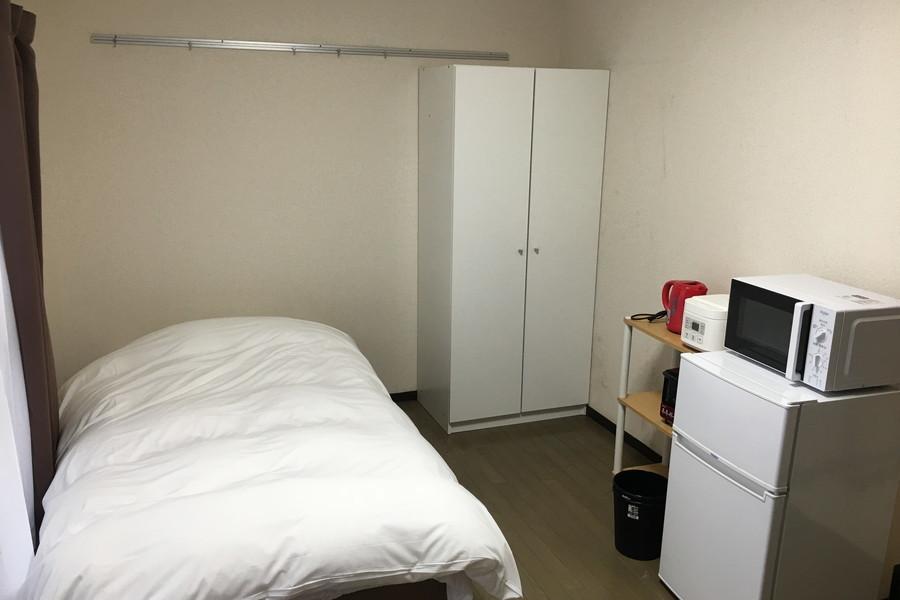 7帖のお部屋は家具・家電類を置いても窮屈さを感じません