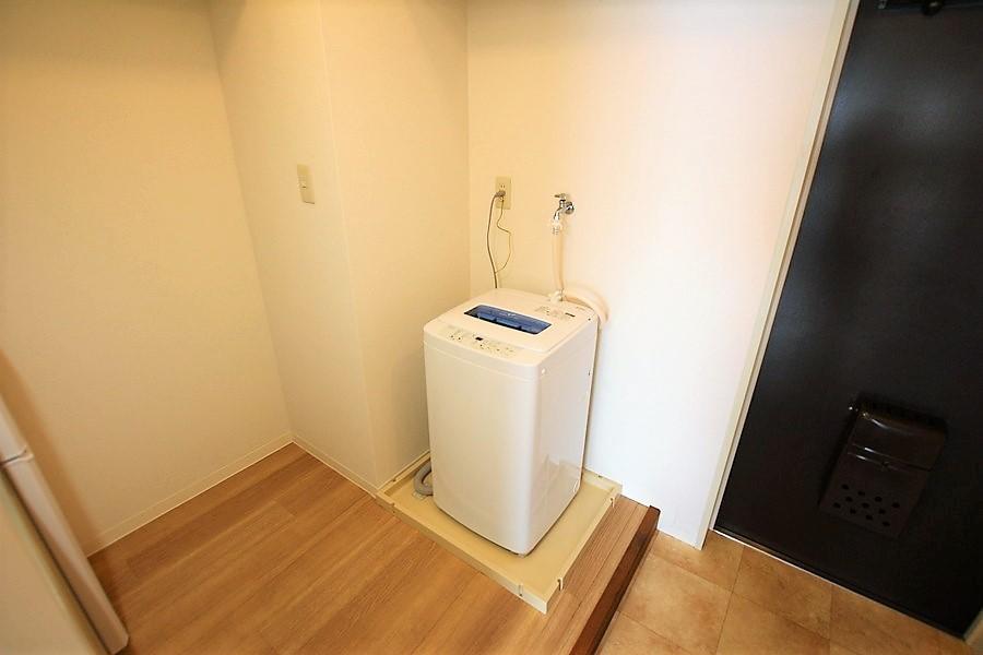 洗濯機は室内置きで衛生面・防犯面も安心