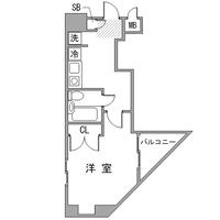 【秋割】アットイン荻窪1間取図