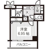 【冬先取りキャンペーン】アットイン日本橋6-1間取図