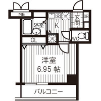 【Happy割】アットイン日本橋6-1間取図